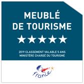 Classement Meublés de Tourisme : 5 étoiles